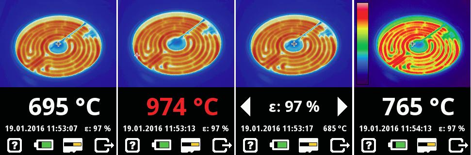 PV480N便携式红外热像仪热图像